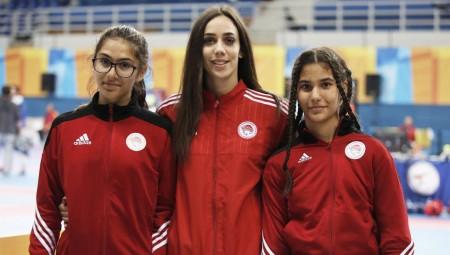 Με τρεις αθλήτριες στο G1 Greece Open Tae Kwon Do!
