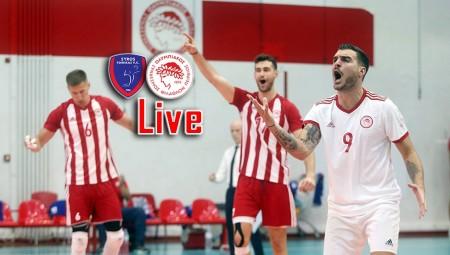 Φοίνικας Σύρου - Ολυμπιακός 0-3 σετ (Τελικό)
