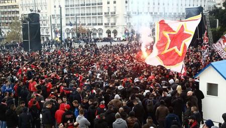 Κόκκινο το Σύνταγμα, κόκκινη η Αθήνα! (Vids)