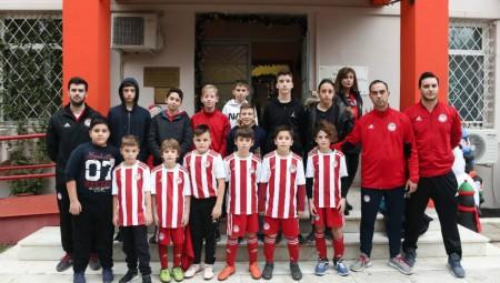 Έδωσαν το παράδειγμα οι Σχολές του Ολυμπιακού! (photos)