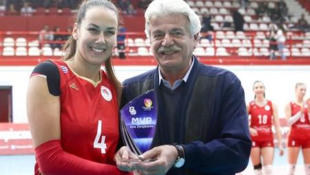 Το βραβείο της MVP στα χέρια της Ζιβογίνοβιτς! (photo)