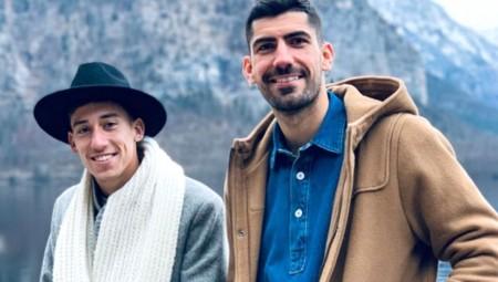 Τσιμίκας και Μπουχαλάκης μαζί και στις γιορτές! (photo)