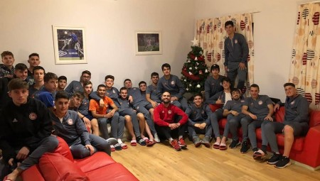 Οι ευχές των παικτών της ακαδημίας! (photo)