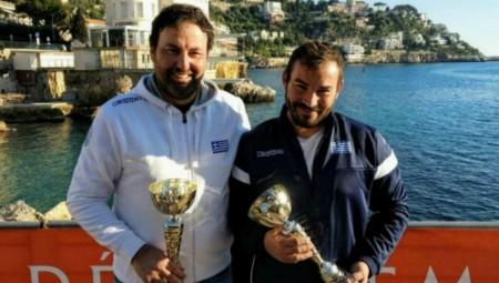 Αργυρό μετάλλιο οι Παπαθανασίου και Νούτσος στη Γαλλία!