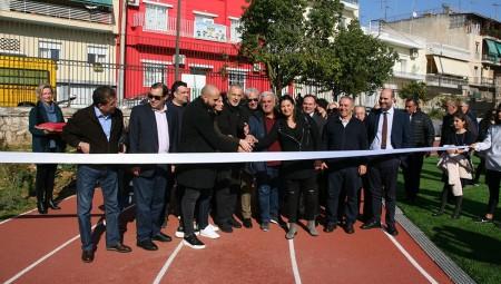 Ο Γιάννης Μώραλης εγκαινίασε το ανακαινισμένο Θεμιστόκλειο (photos)