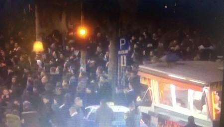 Διαδηλωτές της καντίνας στην προπόνηση του ΠΑΟΚ!