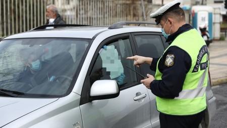 Κορονοϊός: Οι πρώτοι έλεγχοι της αστυνομίας (photos)