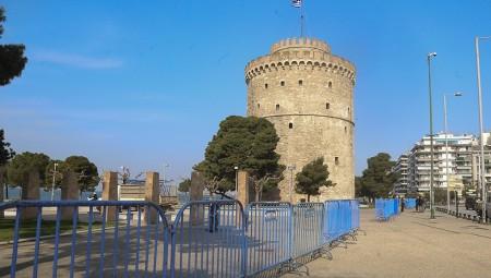 Αυτή είναι η εικόνα στην παραλία Θεσσαλονίκης… (photos)