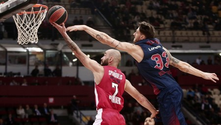 Spanoulis... The Mentalist! (video)