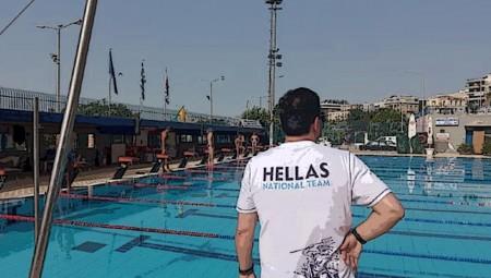 Στην πισίνα η... ερυθρόλευκη Εθνική! (video)