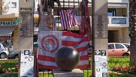 Αποκαταστάθηκε η ζημιά των ανεγκέφαλων στο μνημείο της 7 (photos)