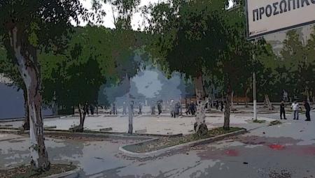 Βόλος: Έπνιξαν στα χημικά διαδηλωτές! Ο ρόλος του Μπέου (video)