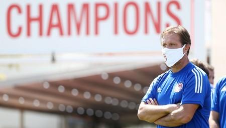 Μαρτίνς: «Χρειαζόμαστε τους τίτλους, ως ο μεγαλύτερος Σύλλογος»
