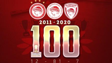 Έγραψε ιστορία: Ο 100ός τίτλος της χρυσής δεκαετίας!