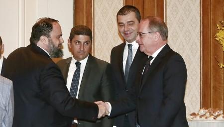 Συνάντηση Μαρινάκη με FIFA-UEFA