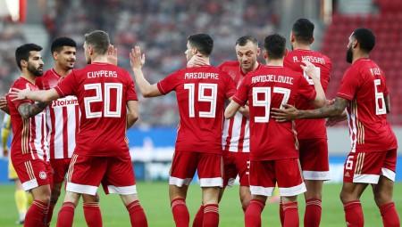 ΟΛΥΜΠΙΑΚΟΣ-Παναιτωλικός 3-0 (Τελικό)