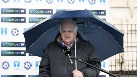 Ρόμπες, μετά και τις δηλώσεις Χριστοβασίλη: «Μας αγνόησε η ΕΠΟ, δεν έβρεχε τόσο πολύ…» (video)