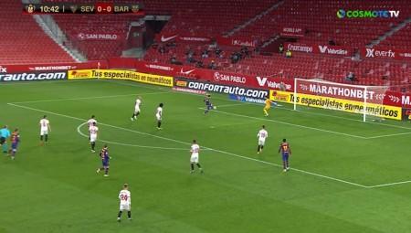 Προβάδισμα η Σεβίλλη, 2-0 τη Μπαρτσελόνα! (video)