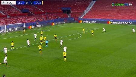 Σεβίλλη-Ντόρτμουντ 2-3: Τεράστια νίκη, με ανατροπή! (video)