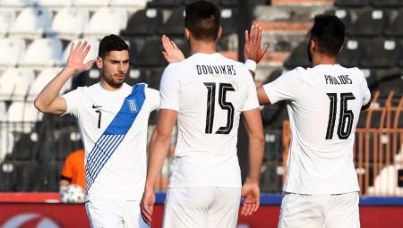 Ασίστ ο πεσμένος Μασούρας, 2-1 η Εθνική (video)