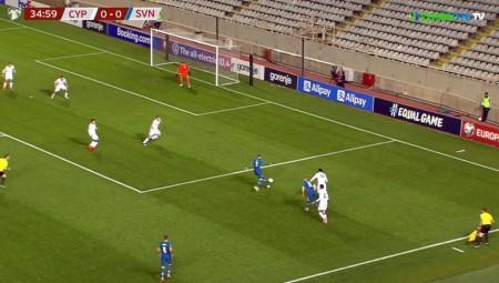Κύπρος: Μεγάλη νίκη, 1-0 τη Σλοβενία (video)