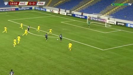 «Σβηστά» νίκησε η Γαλλία το Καζακστάν (video)