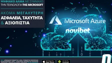 Ψηφιακό άλμα για τη Novibet με σύμμαχο την τεχνολογία της Microsoft