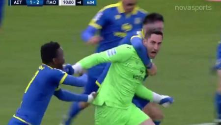 Φοβερό γκολ! Ο ΓΑΥΡΟΣ τερματοφύλακας «κάρφωσε» τον Διούδη (video)