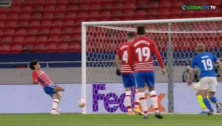 Ανεπανάληπτο αυτογκόλ και 1-0 η Μόλντε τη Γρανάδα! (video)