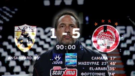 Τα… τρίτα της Εθνικής έβαλαν 5 στην ΑΕΚ! (video)