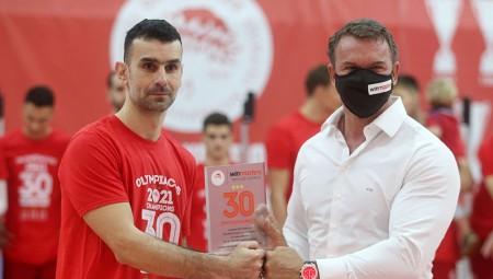 Το μήνυμα του Στιβαχτή, αποκλειστικά στα μέλη του Ολυμπιακού (photo)