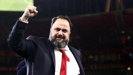 Μαρινάκης: «Συνεχίζουμε δυνατά, συγχαρητήρια για το 30ό πρωτάθλημα»