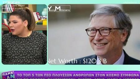 Forbes: Αυτοί είναι οι 5 πιο πλούσιοι άνθρωποι στον πλανήτη! (video)