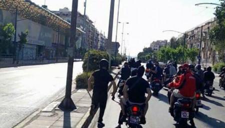 Έφτασαν ως τη Λεωφόρο οι οπαδοί του Ολυμπιακού! (photo)