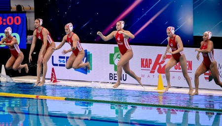 Έτοιμη να γράψει ιστορία η γυναικεία ομάδα πόλο του Ολυμπιακού! (video)