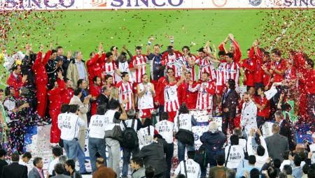 «Πάρτι» Θρύλου με ΑΕΚ και Κύπελλοοοοο! (video)