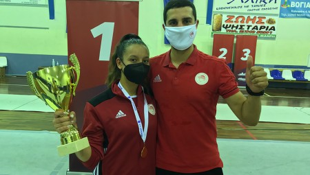 Πρωταθλήτρια η Γαζεπίδη