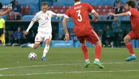 Euro 2020 | Ρωσία-Δανία: Με πλασεδάρα ο Ντάμσγκααρντ