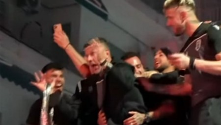 Βρίζετε ελεύθερα, αθώος ο Γκαρσία για τη χυδαία συμπεριφορά, μετά τον τελικό!