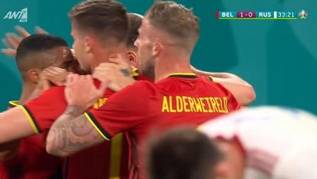 Euro 2020 | «Γκέλα» ο Σούνιν, 2-0 με Μενιέ το Βέλγιο (video)
