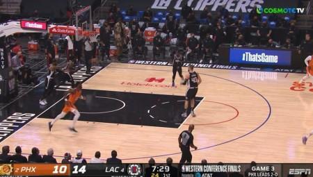 NBA   Προβάδισμα οι Κλίπερς (video)