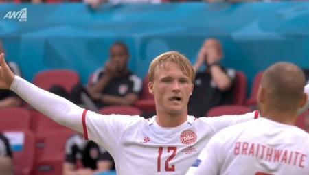Euro 2020   Ουαλία-Δανία: Η «οβίδα» του Ντόλμπεργκ για το 0-1 (video)