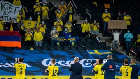 Δεύτερος παίκτης της Σουηδίας θετικός στον κορονοϊό!