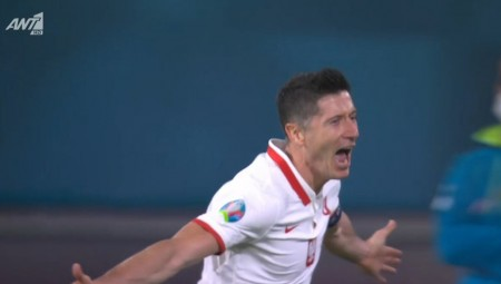 Euro 2020   Ισπανία-Πολωνία: Το κάρφωσε ο «Λέβα»! (video)
