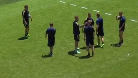 Euro 2020: Σουηδία – Σλοβακία: Το ρεπορτάζ & το ζέσταμα των παικτών (video)
