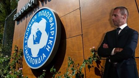 FIFA και UEFA κατά της ΕΠΟ για το έκτρωμα