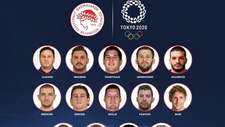 17 αθλητές θα έχει ο Θρύλος στο Τόκιο (photo)