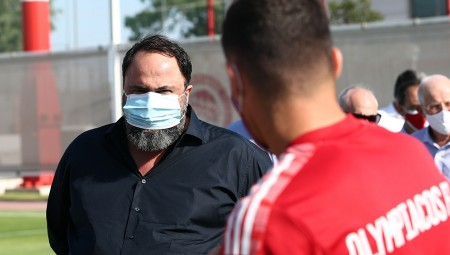 Μαρινάκης: «Προσεκτικοί με τον ιό και να πετύχουμε τους στόχους μας»