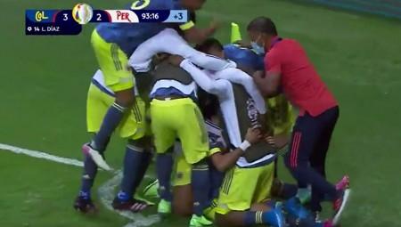 Κολομβία-Περού 3-2: Τι ματσάρα! Δείτε τα highlights! (video)