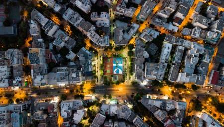 Εντυπωσιακές εικόνες και από drone από το γκράφιτι του Γιάνναρου (photos)